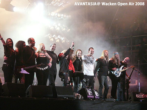 AVANTASIA@ Wacken Open Air 2008