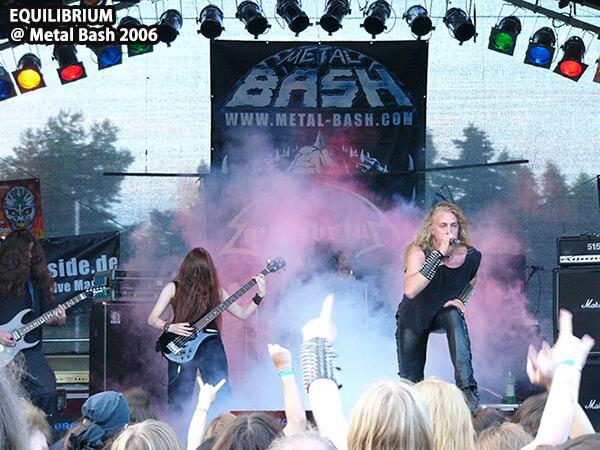 EQUILIBRIUM @ Metal Bash 2006