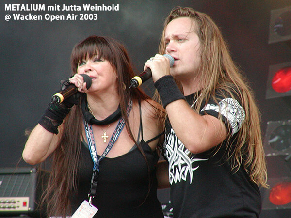 METALIUM mit Jutta Weinhold @ Wacken Open Air 2003