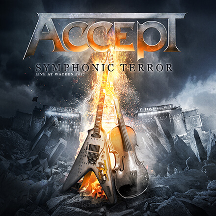 SYMPHONIC TERROR – LIVE AT WACKEN 2017/ACCEPT オーケストラとの共演を含む特別ショウの記録作品