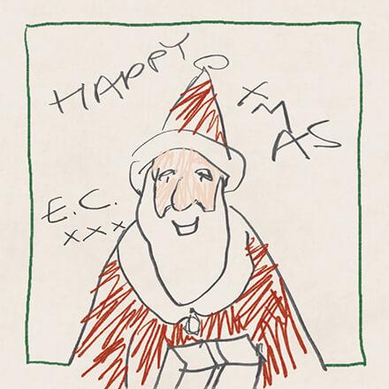 HAPPY XMAS/ERIC CLAPTON クリスマス・アレンジの中にも紛うことなきクラプトンの音