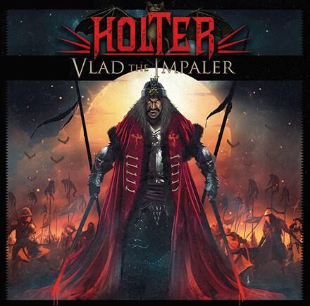 """VLAD THE IMPALER/HOLTER 女性voも迎えた""""ティーニー""""のメタル・オペラ・プロジェクト4作目"""