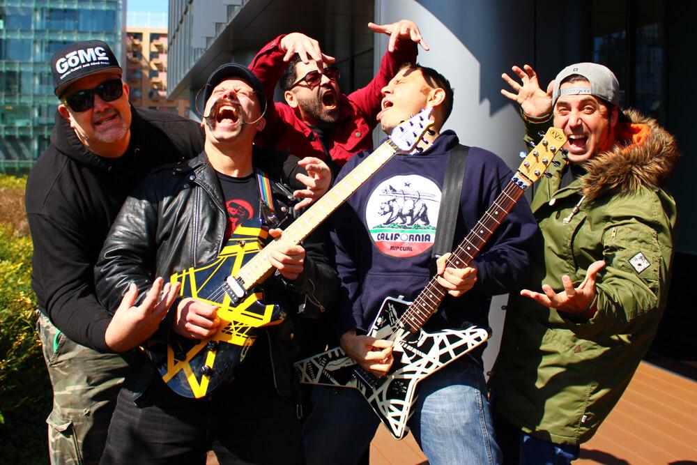 「マッティとダンの力が合わさることで、バンドのプレイ全体に良い相乗効果が加わるんだ」ゼブラヘッド2019 全員インタビュー