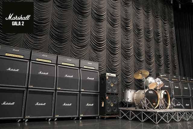 """マーシャル・アンプの壁とラウドなギターを堪能できる""""Marshall GALA 2""""が開催!"""