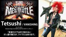 VANISHING: Tetsushiインタビュー