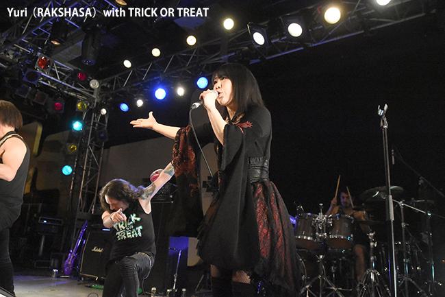 Yuri(RAKSHASA)with TRICK OR TREAT
