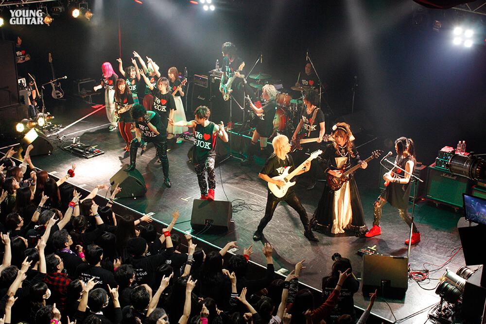 不世出のギタリストに惹き付けられた様々な個性-藤岡幹大- 追悼LIVE「My Little God」at 新宿ReNY 2020.1.19