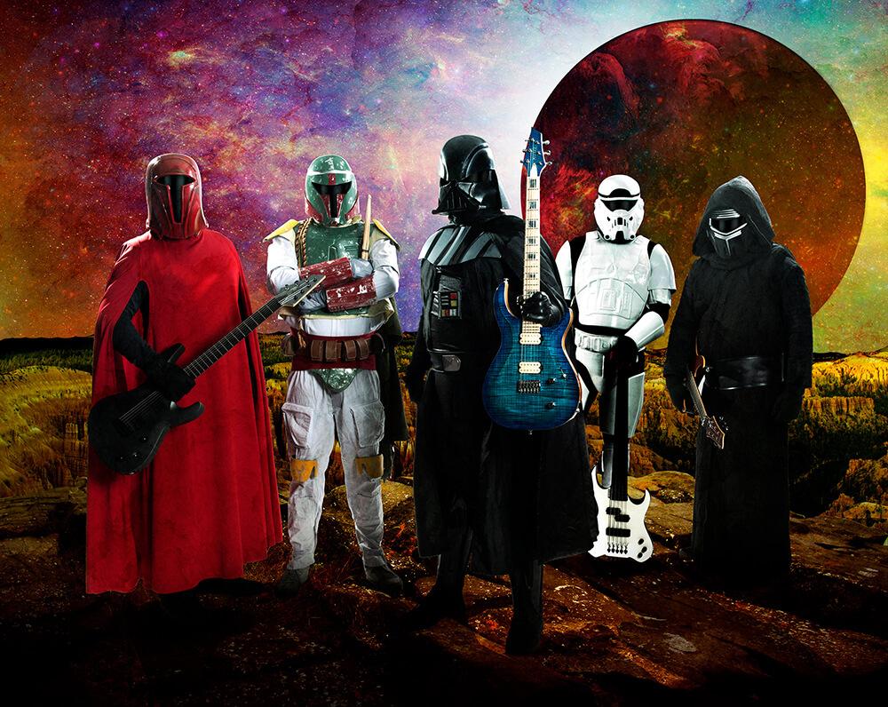 """""""帝国軍""""インスト・バンド:ギャラクティック・エンパイア、ヤング・ギターに襲来!!"""