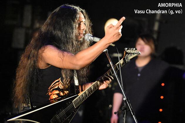 AMORPHIA:Vasu Chandran(g, vo)