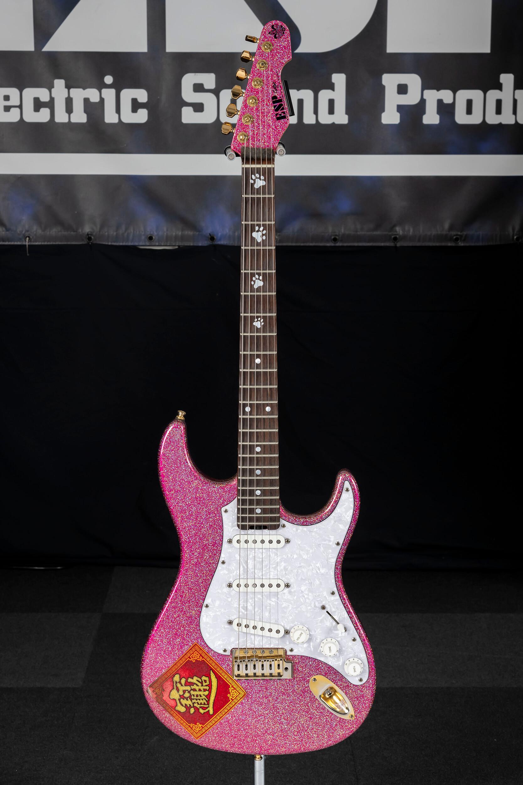 "ESP SNAPPER Ohmura Custom  ""Twinkle Pink / R"""
