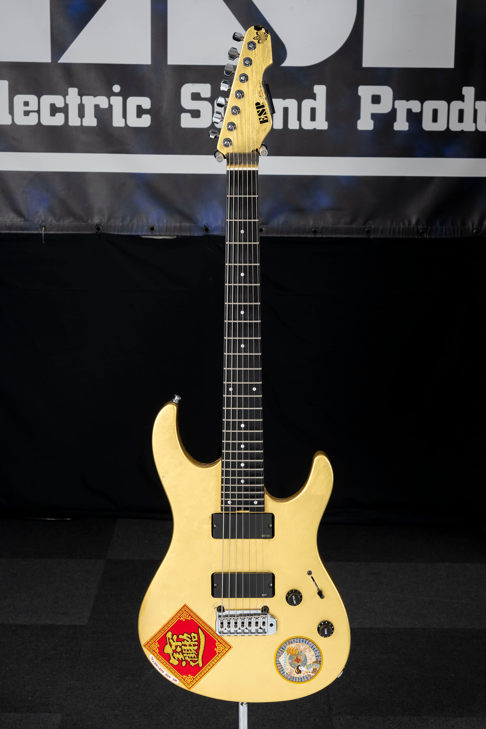 "ESP M-SEVEN Ohmura Custom  ""Golden Moon"""
