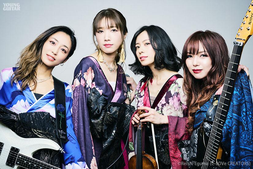 Yuki、SAKI、星野沙織、SAKI