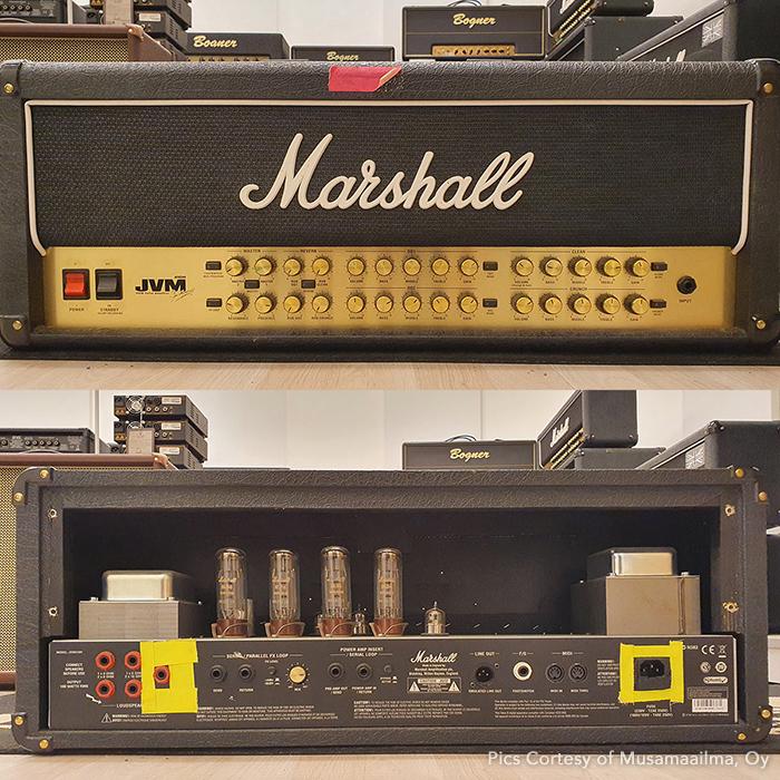 3 - Marhsall JVM410H