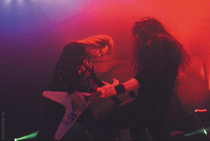 ARCH ENEMY - クリス&マイケル
