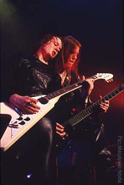 ARCH ENEMY - マイケル&クリス