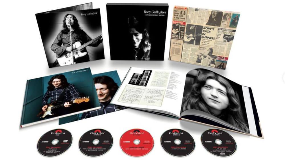 ロリー・ギャラガー1stソロ・アルバムの50周年記念盤がリリース