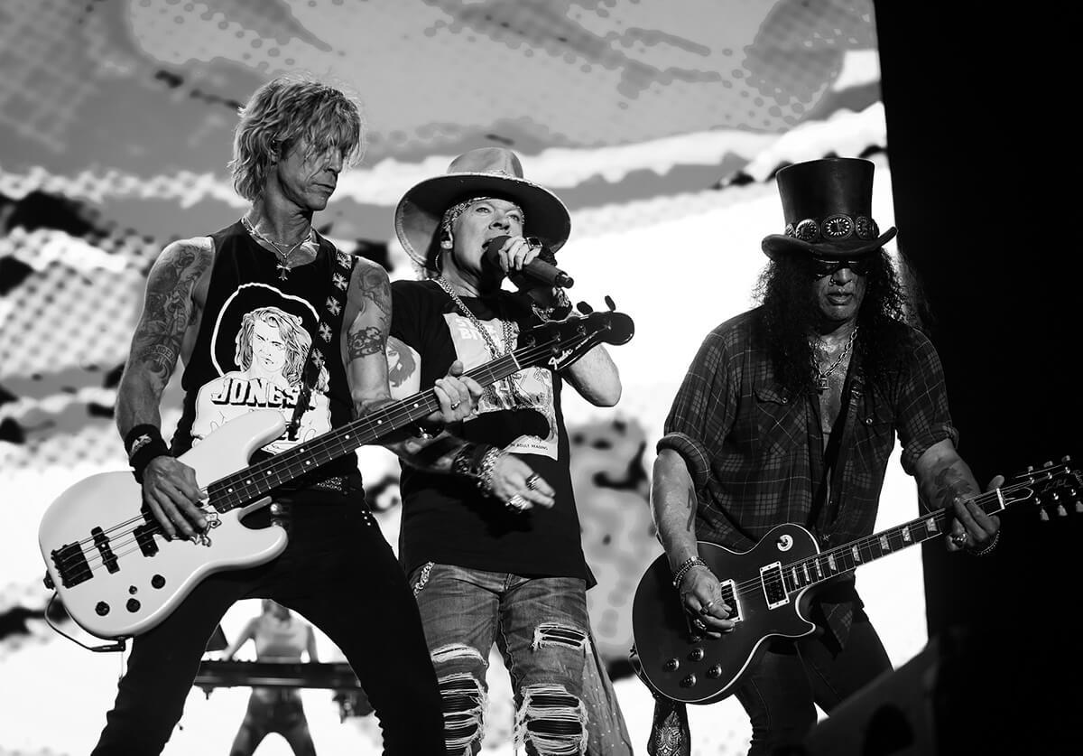 ガンズ・アンド・ローゼズの新曲「Hard Skool」が9月24日配信スタート