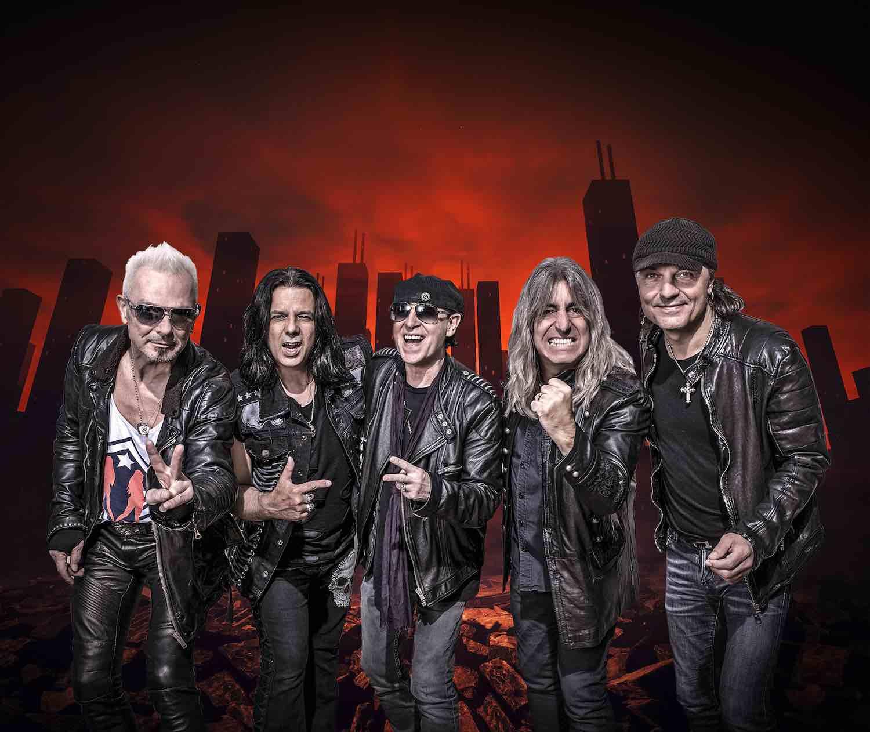 スコーピオンズが19th新作『ROCK BELIEVER』を来年2月に発表、アメリカ公演や欧州ツアーも決定
